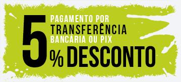 5% de Desconto no Pagamento por Transferência Bancária ou Pix na Zabal Bike!